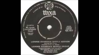 Lonnie Donegan Skiffle Group Railroad Bill  NIXA EP  UK