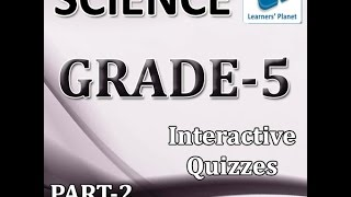 Online Tutorial 5th Class Science Practice Book