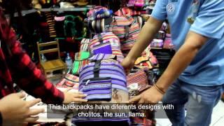 Peruvian souvenirs, handicrafts ARTESANIA SANTO DOMINGO Lima-P…