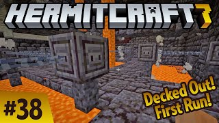 Decked out! First run and a chat with @cubfan135! Hermitcraft 7 ep 38