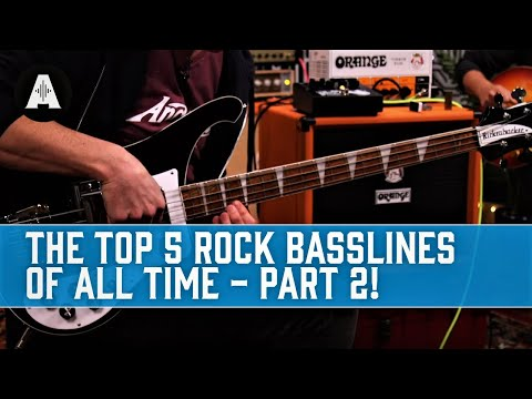 Top 5 Rock Basslines of All Time - Part Two!