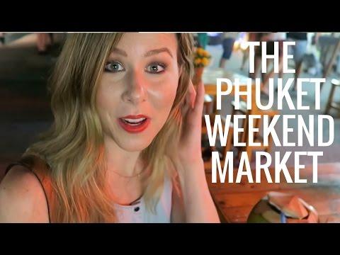 The Phuket Weekend Market Vlog & Haul | Kathryn Tamblyn | Thailand Vlog