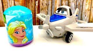 Disney Frozen / Anna Elsa Surprise Egg / Jajko Niespodzianka dpa dzieci / Kinder Überraschung