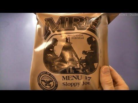 MRE Review - Menu 17 - Sloppy Joe (2010)