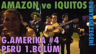 Amazon ve Iquitos . Peru 1. Bölüm  Güney Amerika #4 , DG Dünyagezegeni