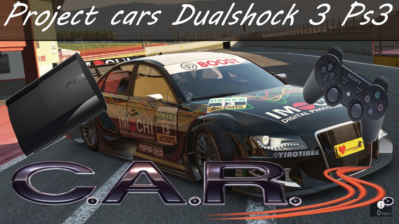 Project Cars Audi A4 PS3 Gameplay HD Ps3 Xbox 360 Wii U PC