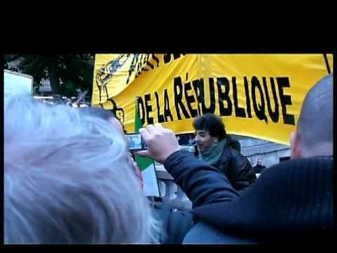17 octobre 2010 - Intervention du PIR sur le pont Saint-Michel