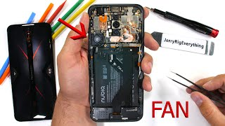 RedMagic 5G Teardown! - How does the Cooling Fan work?
