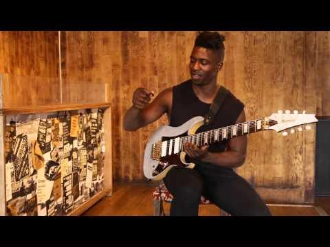 Guitar Lesson: Tosin Abasi - 'Swybrid' picking