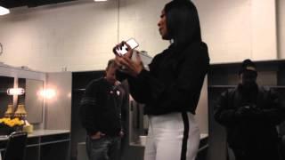 Monica Brown Sings God Bless America @The Atlanta Mayor Inauguration 1.06.14