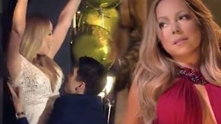 Mariah Carey  spotted kissing  backing dancer Bryan Tanaka just weeks after split from billionaire J