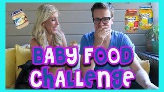 BABY FOOD CHALLENGE! (w/ Rebecca Zamolo and MattSlays)