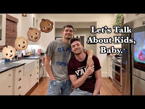 HUSBANDS TALK ABOUT KIDS | GAY COUPLE | PJ and THOMAS