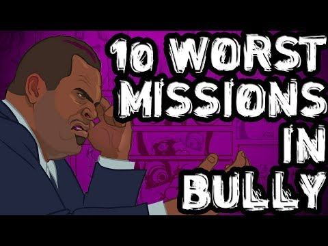 10 Worst Missions in Bully Scholarship Edition!