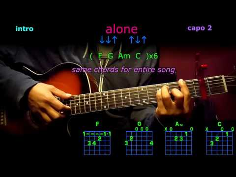 alone marshmellow guitar chords
