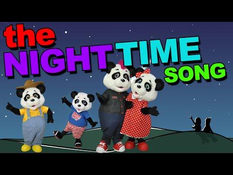 Panda Party - The Night Time Song - Nursery Rhymes & Fun Kids Songs