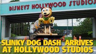 Slinky Dog Dash Ride Vehicle Arrives at Disney's Hollywood Studios | Toy Story Land