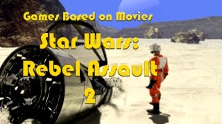 Games Based on Movies - Star Wars: Rebel Assault II