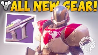 Destiny 2: ALL NEW WEAPONS & ARMOR! Exotic Guns, Perks, Subclasses & Character Gear