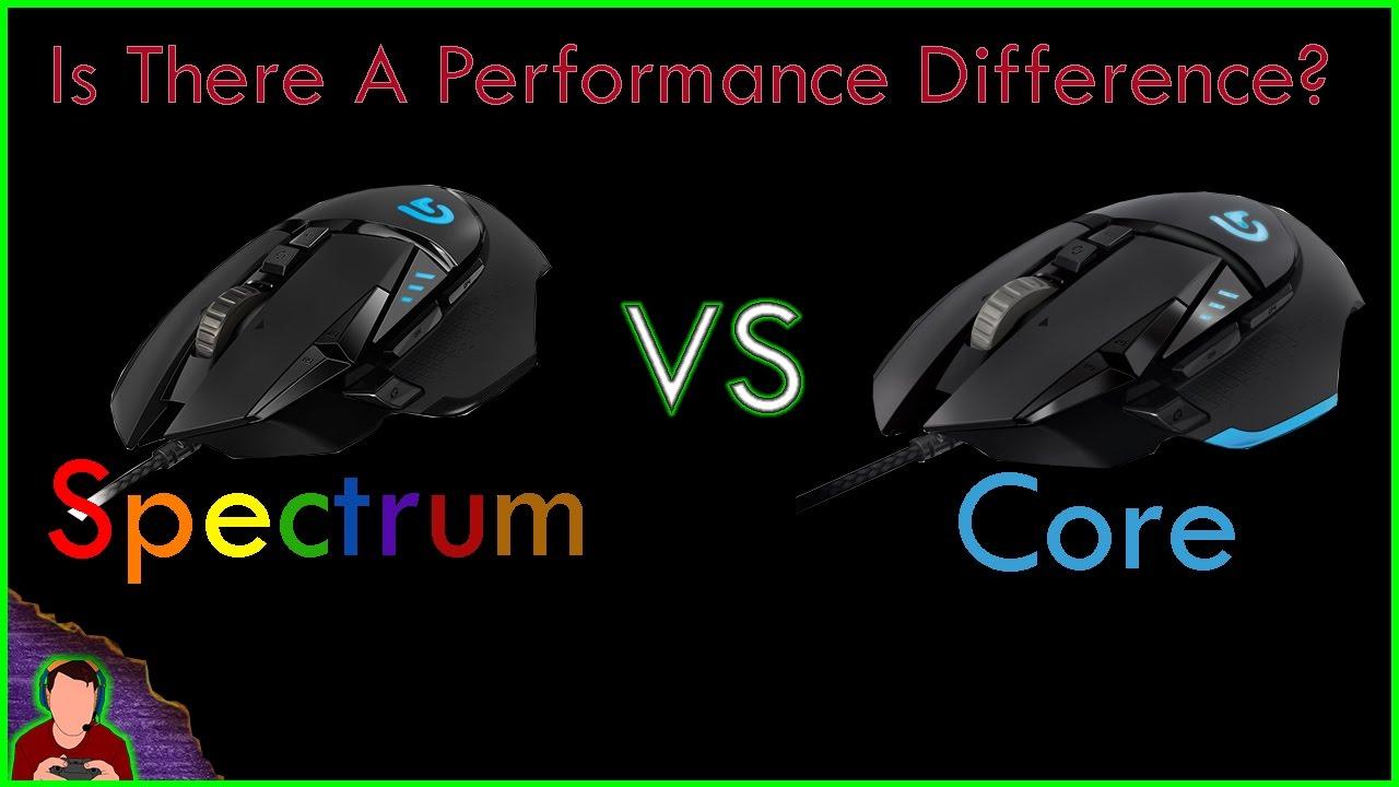 ba1dcba3751 Logitech G502 Proteus Spectrum Vs Logitech G502 Proteus Performance Test