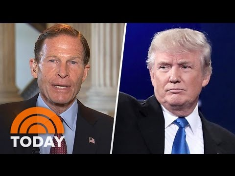 Senator Richard Blumenthal: President Trump Could Have Threatened National Security | TODAY