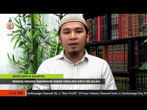Manga Hinang Mahinang Sabab Hikalasa Katu sin Allah - Sheikh Abdussabour Muhaimin Sakili (Tausug)