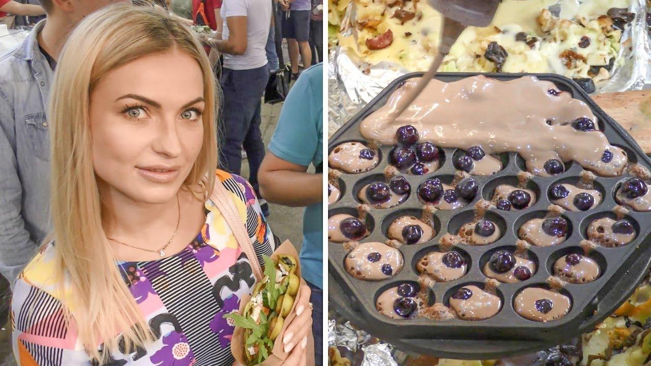 Avenue Meals Kiev, Ukraine. Tasty and Vibrant Bubble Waffle