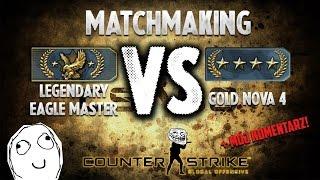 CS:GO LEM Competitive Match (Full Match)