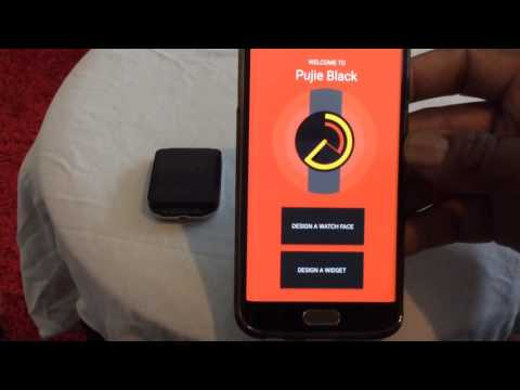 Control FREE Spotify with android wear & Pujie black