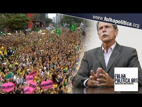 'Vamos para a rua porque o Brasil não tem tempo a perder', diz general...