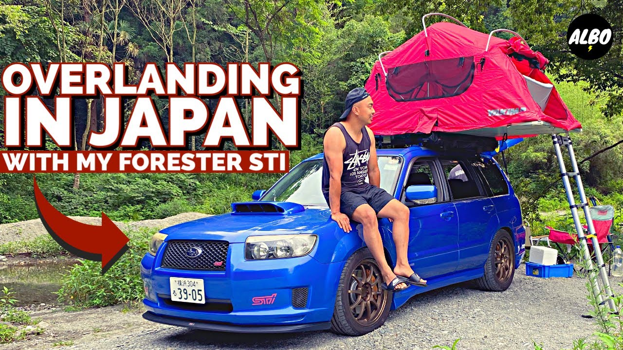 I Put A Roof Tent On My Sportscar And Went Camping Across Japan