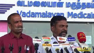 Thol Thirumavalavan bold speech on Muslims, Rajinikanth and Triple Talaq