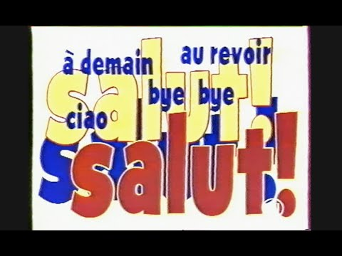 CANAL J - Fermeture antenne - CANAL JIMMY - Ouverture antenne - 1994