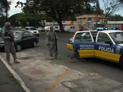 National Guard Police Support