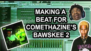 MAKING A simple BEAT FOR COMETHAZINES BAWSKEE 2 FL STUDIO BEAT MAKING TUTORIAL 2019