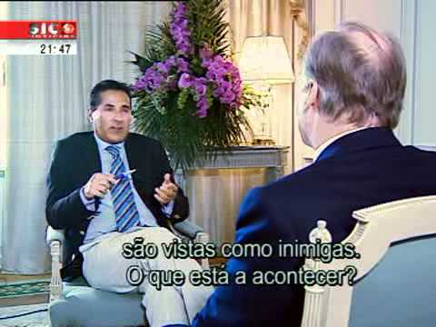 His Highness Aga Khan interview for Portugal TV
