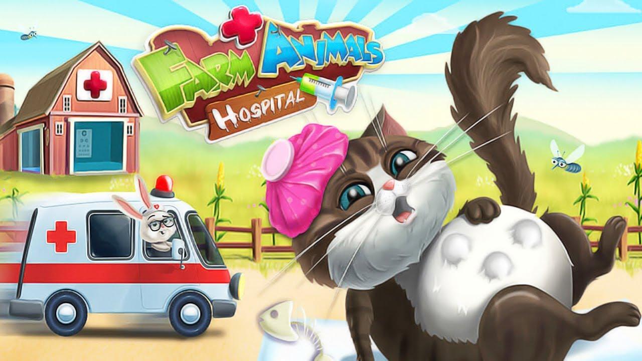 Jugar Animal De Granja Hospital 3 Cuidado De Los Lindo Animales Vestirse Juegos Para Chicas Youtube