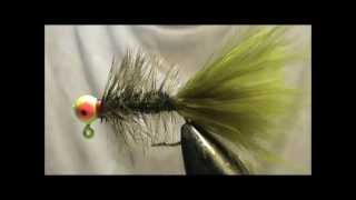 Fly Tying an Olive Jighead Woolybugger with Jim Misiura
