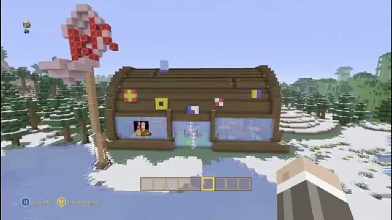 How To Build Krusty Krab In Minecraft