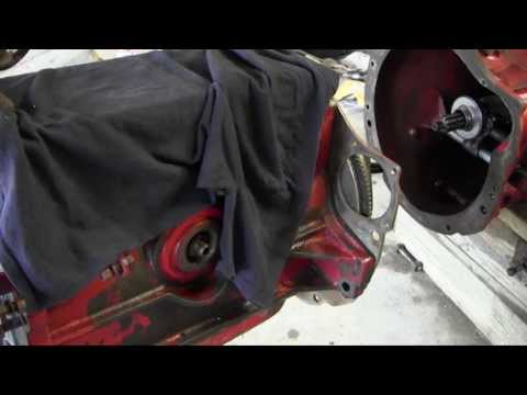 Ford Jubilee NAA Tractor Engine Rebuild Part 12 Engine on the Tractor and Governor Installation