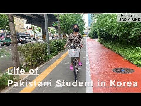 🇰🇷 Life as a foreign student in Korea | SADIA RIND