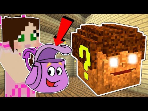 Minecraft: DORA THE EXPLORER LUCKY BLOCK!!! (DORA'S BACKPACK, SWIPER, & BOOTS!) Mod Showcase thumbnail