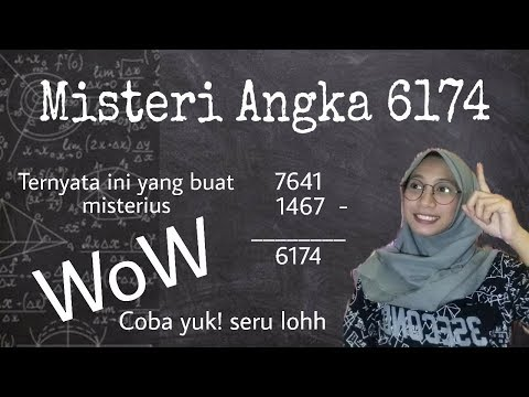 Misteri Angka 6174 Terbaru