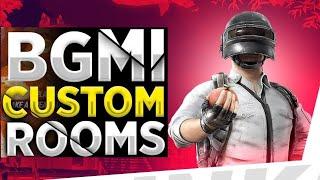 Bgmi Live Custom Rooms | Everyday Bgmi Custom Rooms Live | Battleground Mobile India | Game Guru