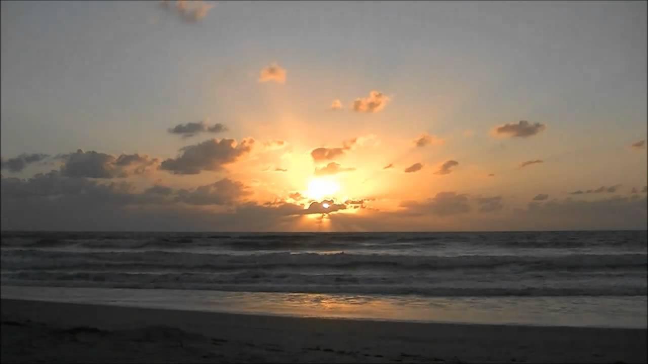 Sunrise Florida Cocoa Beach Cape Canaveral 9 20 2010 Youtube
