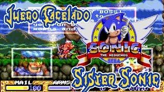 Juego cancelado de Sonic: Sister Sonic (Mega CD): El RPG de la hermana de Sonic