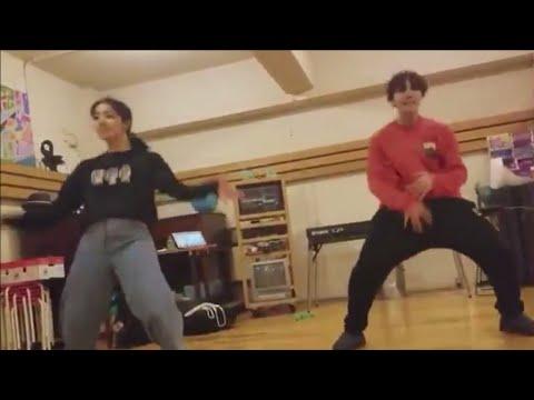 180210 BTS TWITTER UPDATE - J.HOPE DANCE PRACTICE WITH KAZANE KASAI