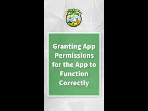 Granting App Permissions For The App To Function Correctly