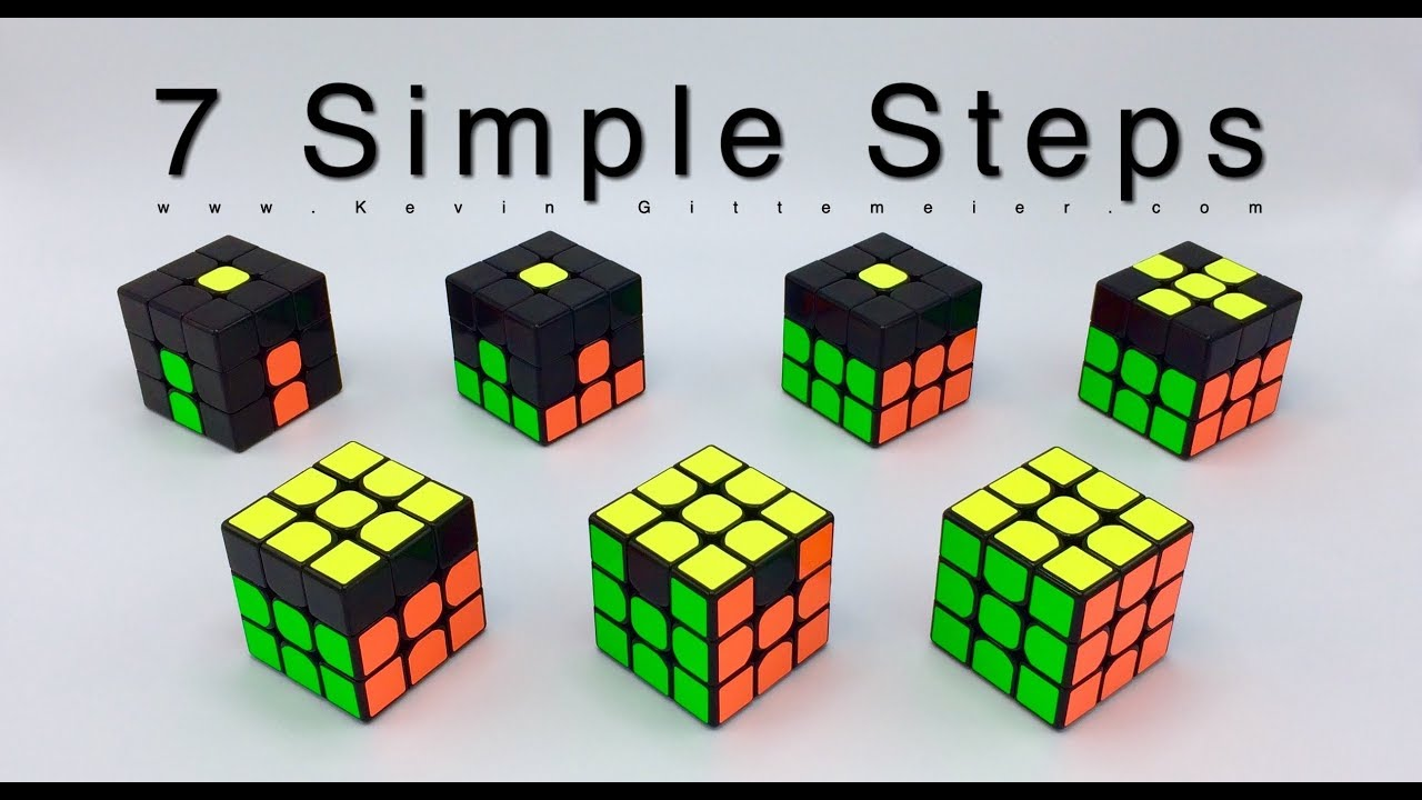 Download How To Solve Rubik's Cube: 7 Easy Steps  (RECAP)