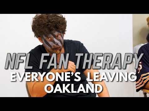 NFL FAN THERAPY: Everyone's Leaving Oakland